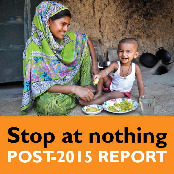 Stop at Nothing: Post-2015 Goals for Children