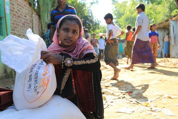 World Vision hat bisher 25.000 Menschen mit Nahrungsmittelhilfe erreicht.