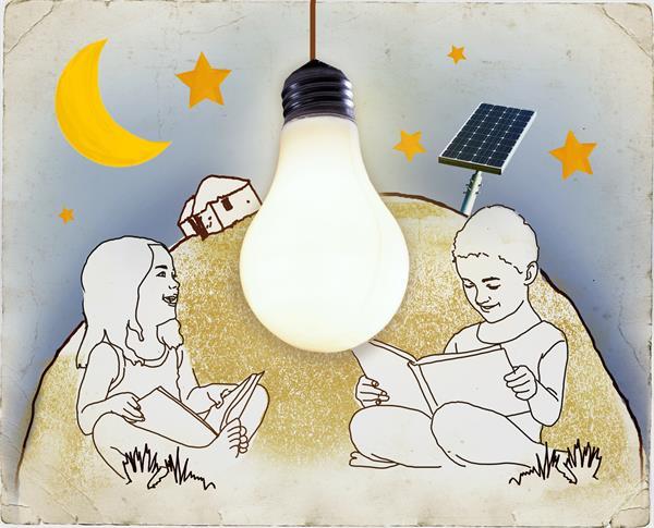 Solarlampen: Ein nachhaltiges Geschenk aus dem World Vision-Geschenkeshop
