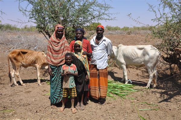 Der 45-jährige Bauer Gule Mohammed wurde von World Vision mit einem Bewässerungssystem unterstützt