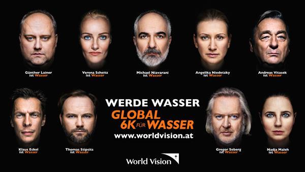9 Stars der Kabarett-Szene unterstützen die Initiative Global 6K für Wasser