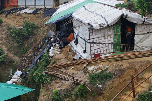 883.000 Menschen sind in Bangladesch vom Monsunregen betroffen.